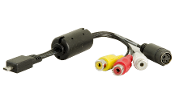 AV adapter cable for WinTV-HVR TV tuners