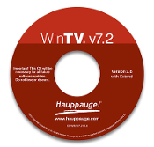 WinTV v7.2 HD CD-ROM
