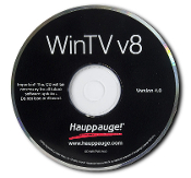 WinTV v8.5 HD CD-ROM